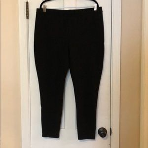 Chico's Fab Slimming black leggings Sz 3 Like NEW